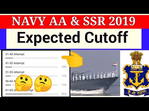 Navy AA and SSR Cutoff |Expected cutoff 2019 | my study dost | PFT cutoff |