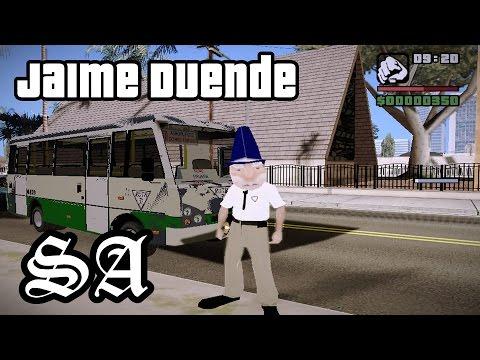 Jaime Duende Microbusero GTA Mexico