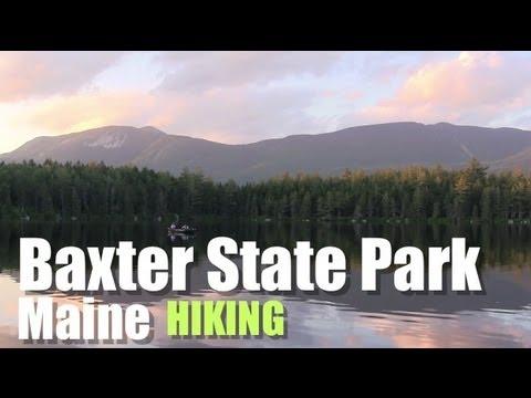 Baxter State Park Katahdin Chimney Pond Daicey Pond Hiking