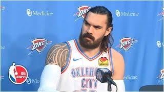 Steven Adams full press conference | Oklahoma City Thunder | 2019 NBA Media Day