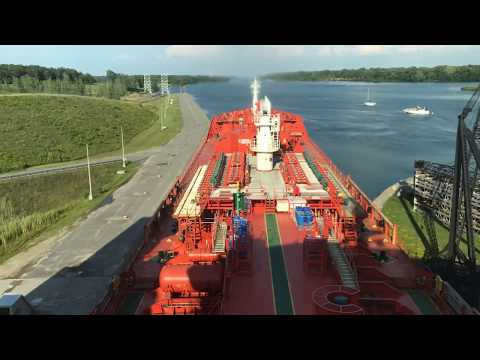 "M/T ""ADFINES STAR""  on the Saint Lawrence Seaway 