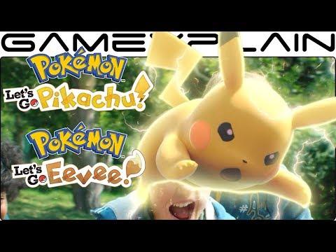 Pokémon Let's Go Pikachu & Eevee - Switch News Channel Trailer