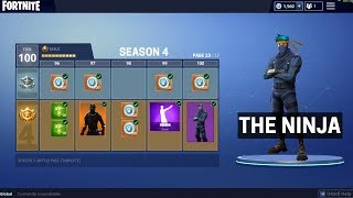 Fortnite Season 4 *NEW* Skins + Items!!? - Fortnite Season 4 Battlepass?!
