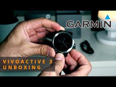 Garmin Vivoactive 3 Unboxing [deutsch/english subtitle]