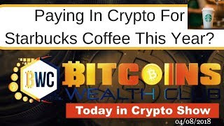 Paying For Starbucks in Bitcoin?