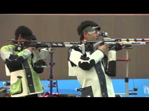 Стрельба  Нанкин 2014  Грачик Бабаян завоевал серебряную медаль