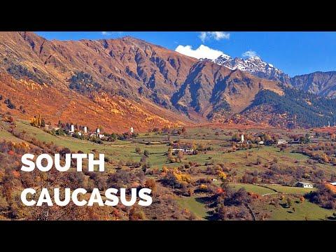 The Road to Svaneti in Georgia (South Caucasus)