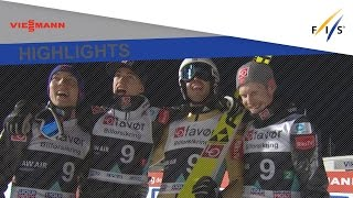Highlights | | Norway rules in Team Flying Hill event on home soil | FIS Ski Jumping