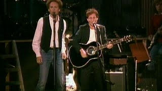 In 1981, Simon & Garfunkel reunited for a free concert to restore N...