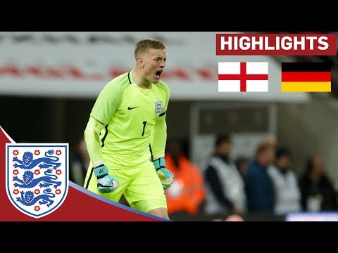 Jordan Pickford Shines in a Goalless Draw | England 0 - 0 Germany | Official Highlights