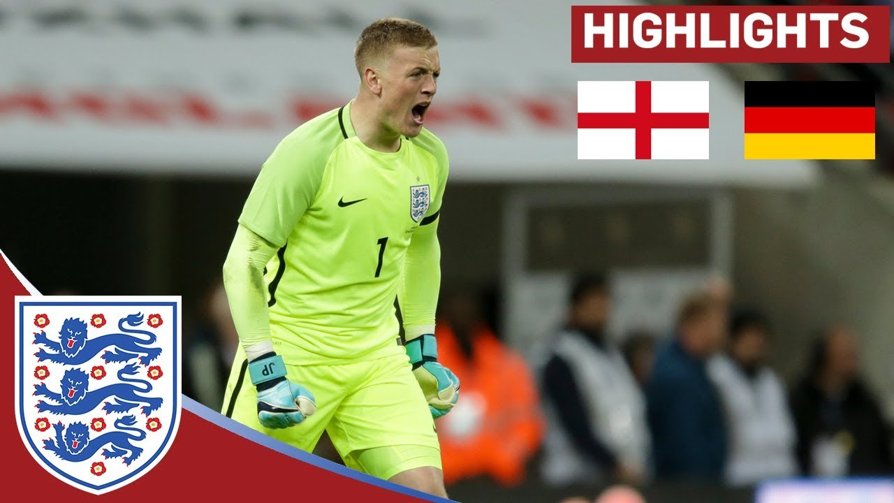 Jordan Pickford Shines in a Goalless Draw   England 0   0 Germany     Jordan Pickford Shines in a Goalless Draw   England 0   0 Germany    Official Highlights