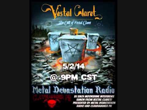 Vestal Claret - Interview 2014 - Metal Devastation Radio