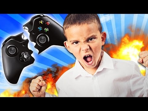 11 YEARR OLD SAVAGE SMASHES HIS CONTROLLER! (Call of Duty Trolling)