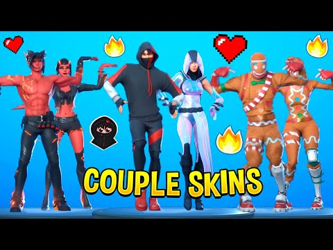 Best Fortnite Dances With Couple Skins