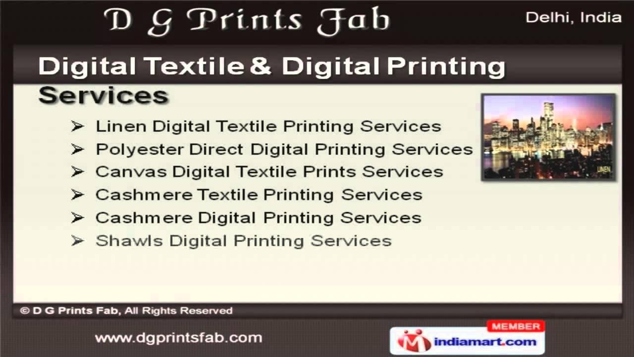 Digital Printing Services : Digital uv printing services by d g prints fab delhi