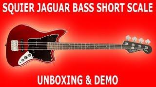 Squier Vintage Modified Jaguar Bass Short Scale • UNBOXING & DEMO