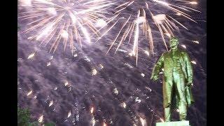 В Саранске празднование Дня города завершилось грандиозным салютом!