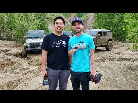 Taking Jeeps Off-Roading With Stradman!!!