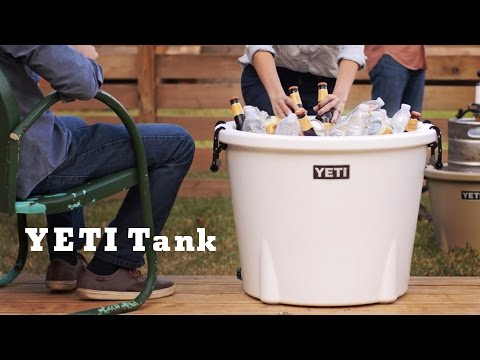 YETI Tank Cooler - Not Your Ordinary Ice Bucket