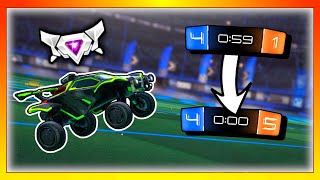 Last Minute COMEBACK | Grinding for Supersonic Legend | 1's Until I Lose Ep. 29 | Rocket League