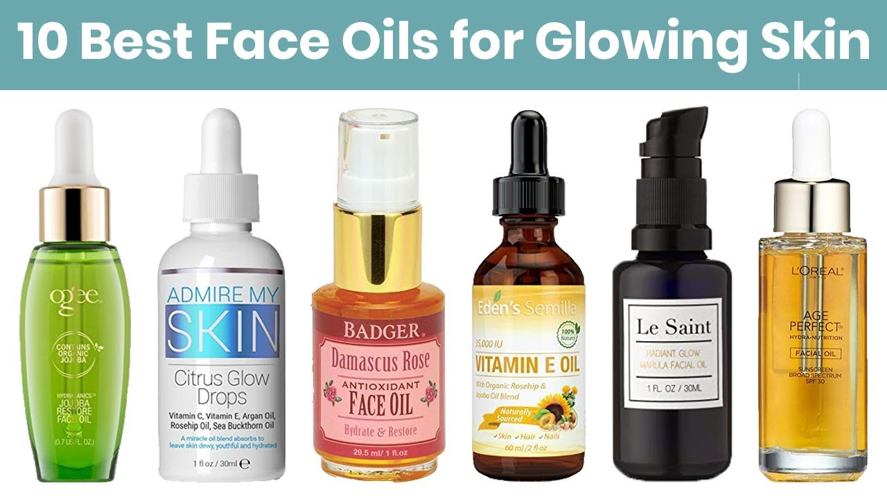 The Best Facial Oils advise