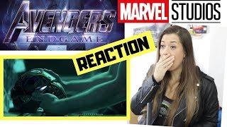 Avengers 4 EndGame - Official Trailer REACTION