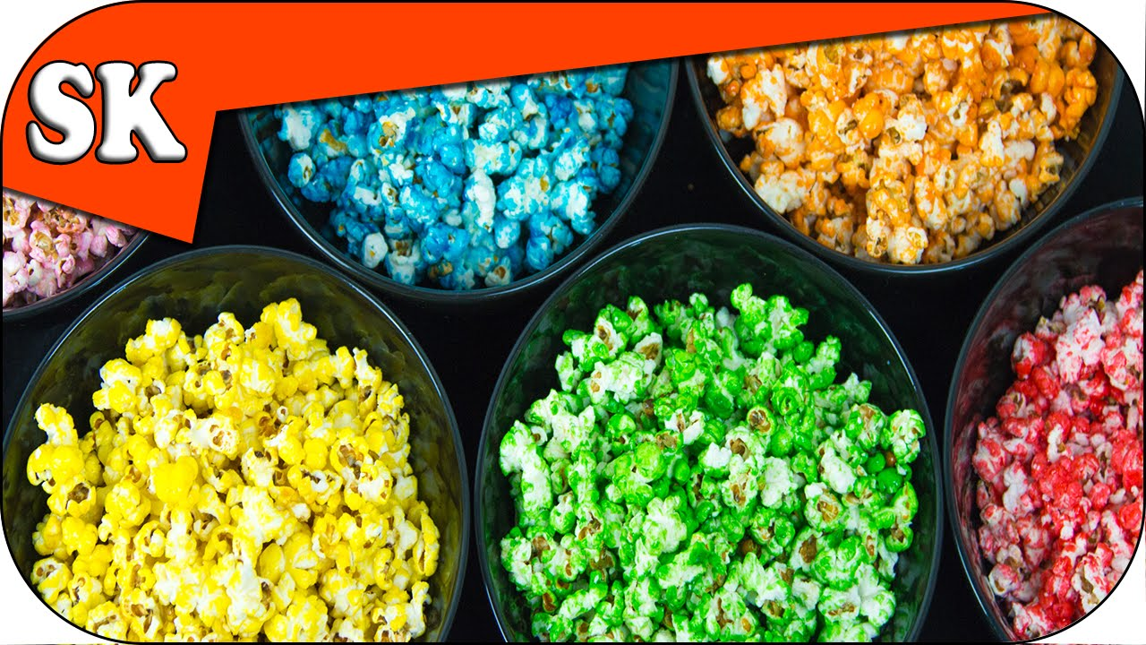 Rainbow Popcorn How To Make