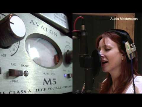 Microphone preamplifier comparison by Audio Masterclass
