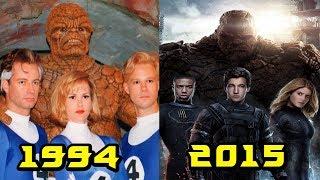 Эволюция Фантастической Четверки все появления в фильмах и мультфильмах (1967-2015)