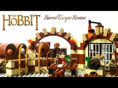 LEGO The Hobbit 79004 Review: Barrel Escape - YouTube