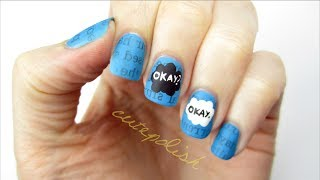 The Fault In Our Stars Nail Art