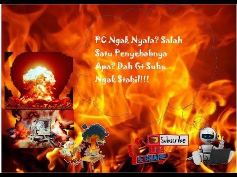 Nanganin Pc Yang Ngak Mau Nyala#Edition Tips & Trick