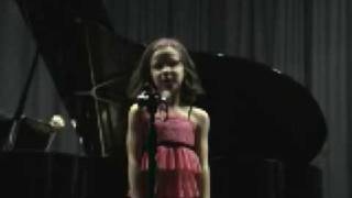 AMAZING 8-year-old sings Popular from Wicked