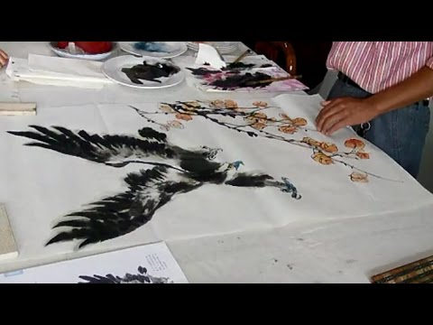 Traditional Chinese Painting - Chinese Bird Ink Painting