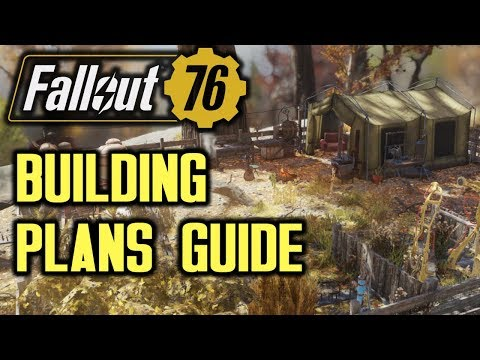 Fallout 76 - C A M P Building Plans Location Guide - YouTube