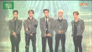 [SUB ENG] T.O.P x Taeyang (Bigbang) - Best Artist of The Year Melon Music Award (MMA) 151107