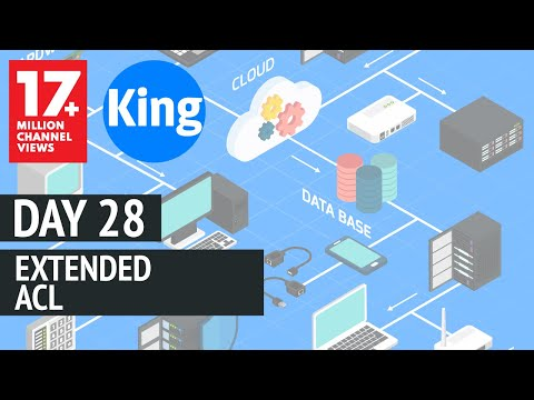 200-125 CCNA v3.0 | Day 28: Extended ACL | Free CCNA | Cisco