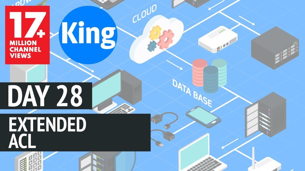 200-125 CCNA v3 0 | Day 28: Extended ACL | Free CCNA | Cisco
