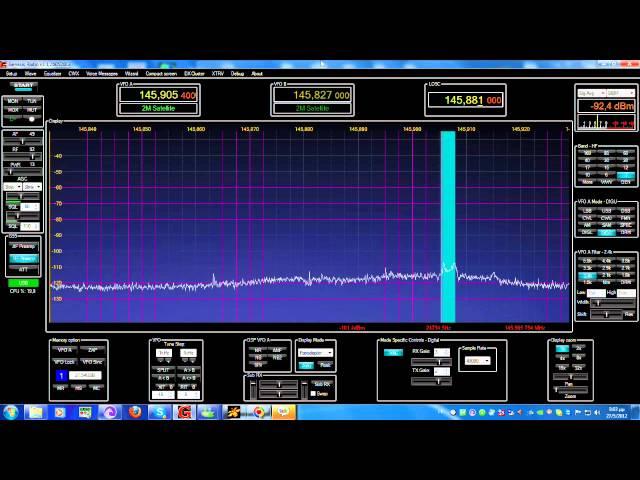 Video of VO-52 Downlink Over Europe | AMSAT-UK