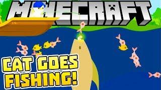 CAT GOES FISHING W MINECRAFT! | Mapy od Widzów #110 | VERTEZ | 4K