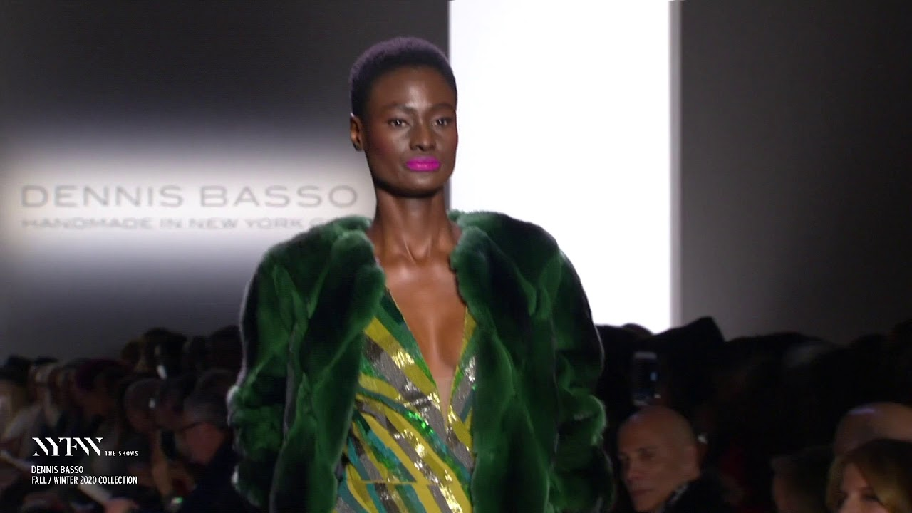 Dennis Basso February 2020 Runway at NYFW: The Shows