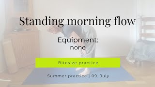 Morning practice standing toe flow 09-07-2020