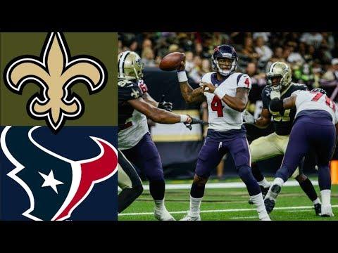 Texans vs. Saints Week 1 Highlights | NFL