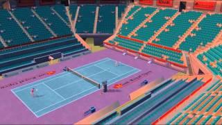 Climax Tennis WTA Tour Edition Gameplay PCSX2 R5703 {PS2} {HD 1080p}