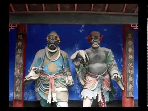 """Creepiest Places upon Earth : Fengdu, the """"City of Ghosts, China"""