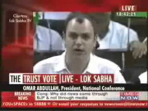 ▶Omar Abdullah Powerfull Speech On Kashmir Cruflew