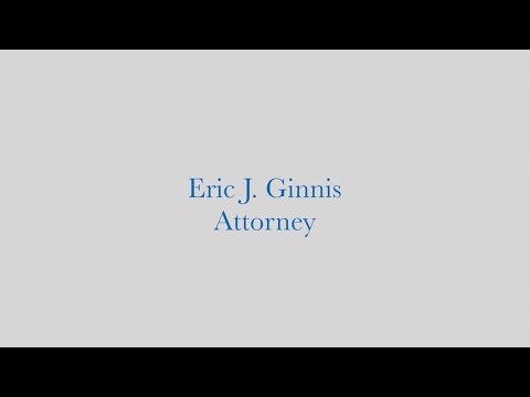 Eric Ginnis, Fort Lauderdale Personal Injury Lawyer