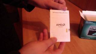 AMD Athlon II X2 240 CPU Unboxing