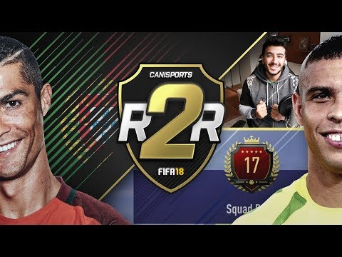 FIFA 18 Road to Ronaldos #16 - NUMBER 17 IN THE WORLD REWARDS! 2 INFORMS IN 1 PACK!