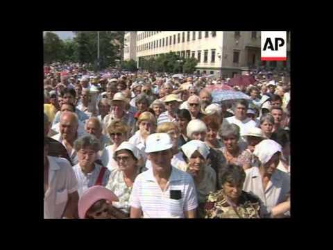 Bulgaria - Funeral of Todor Zhivkov - 1998